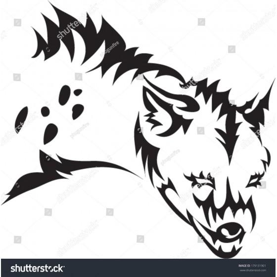 Hyena Vinyl Decal Sticker V5
