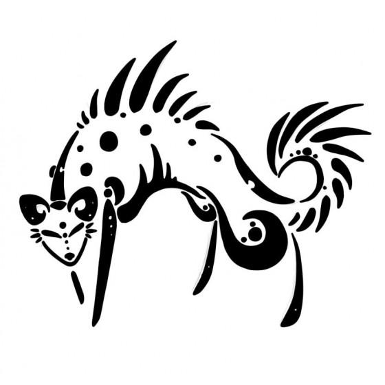 Hyena Vinyl Decal Sticker V6