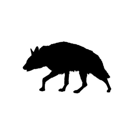 Hyena Vinyl Decal Sticker V8