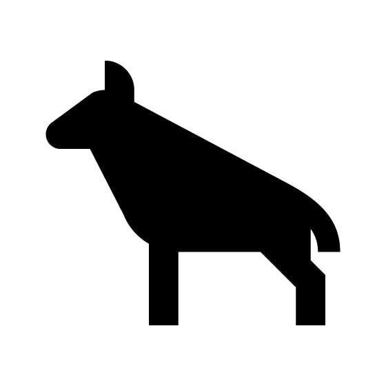 Hyena Vinyl Decal Sticker V9