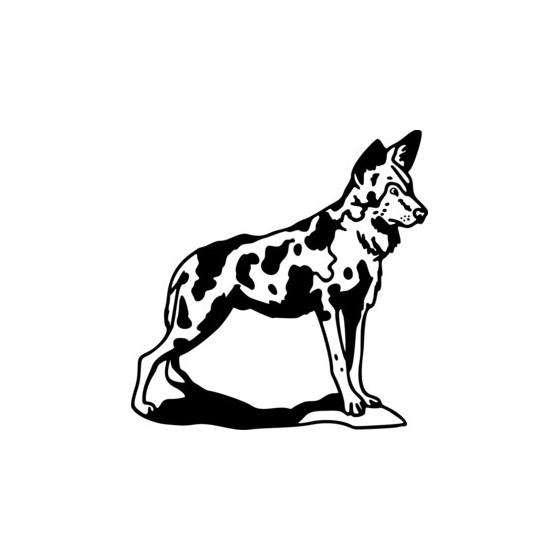 Hyena Vinyl Decal Sticker