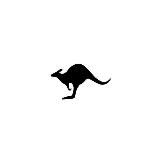 Kangaroo Vinyl Decal...