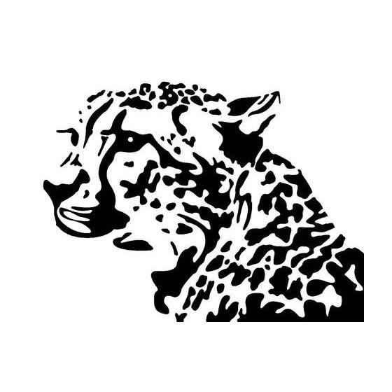 Leopard Vinyl Decal Sticker V7