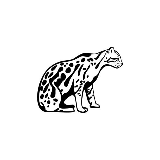 Leopard Vinyl Decal Sticker