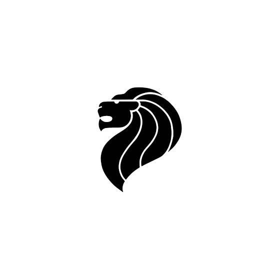 Lion Vinyl Decal Sticker V17