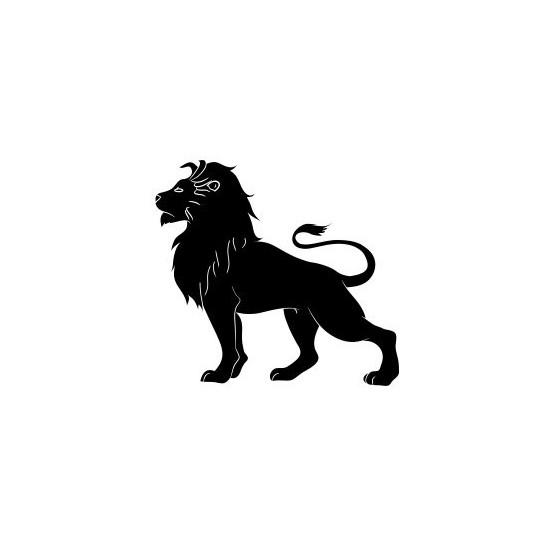 Lion Vinyl Decal Sticker V19