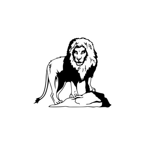 Lion Vinyl Decal Sticker V2
