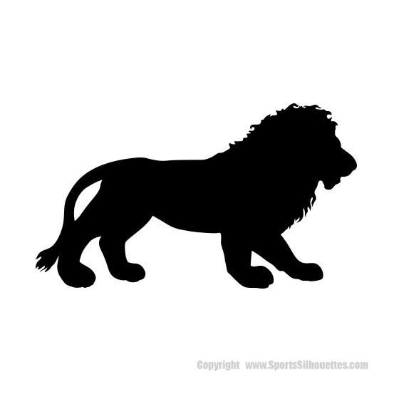 Lion Vinyl Decal Sticker V21