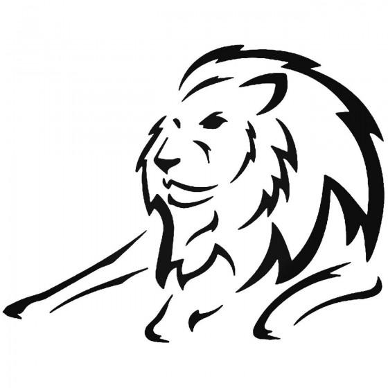 Lion Vinyl Decal Sticker V24