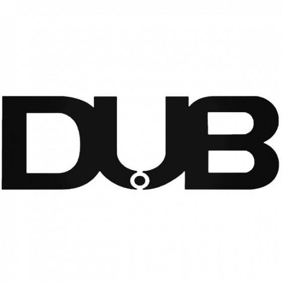 Dub 2 Decal Sticker