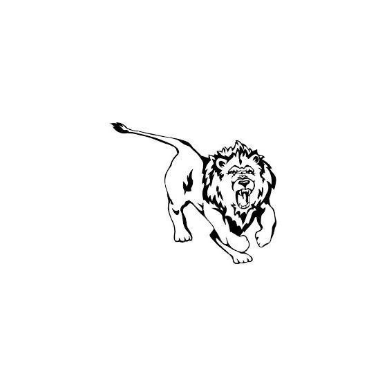 Lion Vinyl Decal Sticker V33