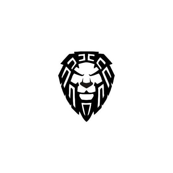 Lion Vinyl Decal Sticker V36