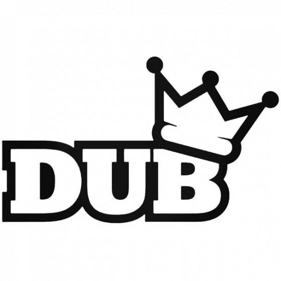 Dub 3 Decal Sticker