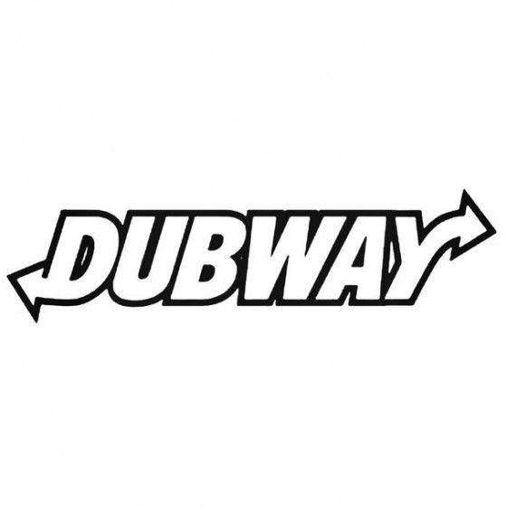 Dubway Sticker