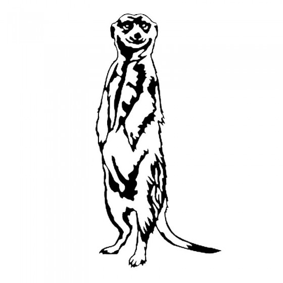 Meerkat Vinyl Decal Sticker...
