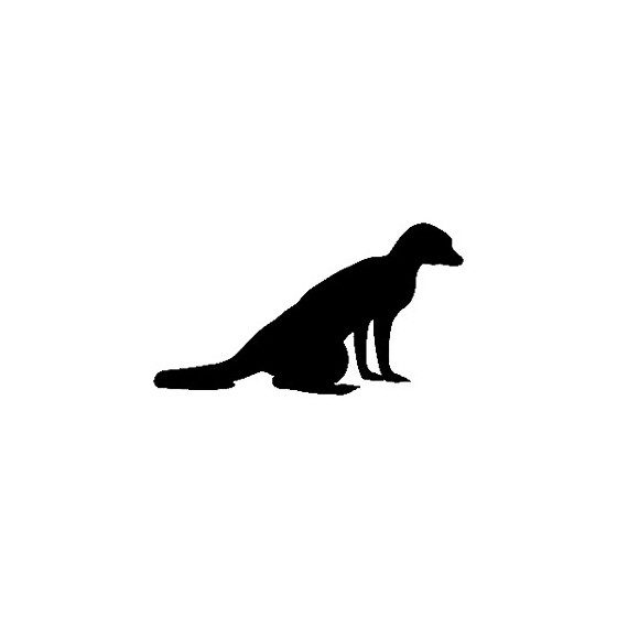 Meerkat Vinyl Decal Sticker V3