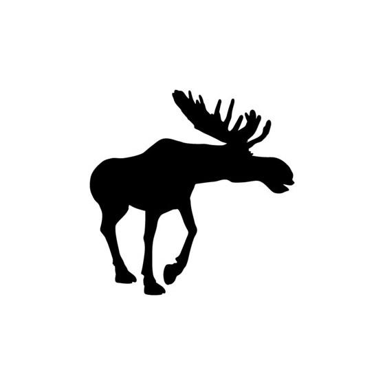 Moose Vinyl Decal Sticker V10