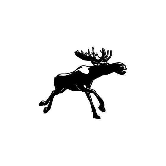 Moose Vinyl Decal Sticker V11