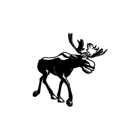 Moose Vinyl Decal Sticker V13