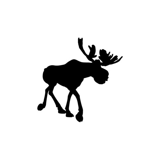 Moose Vinyl Decal Sticker V14
