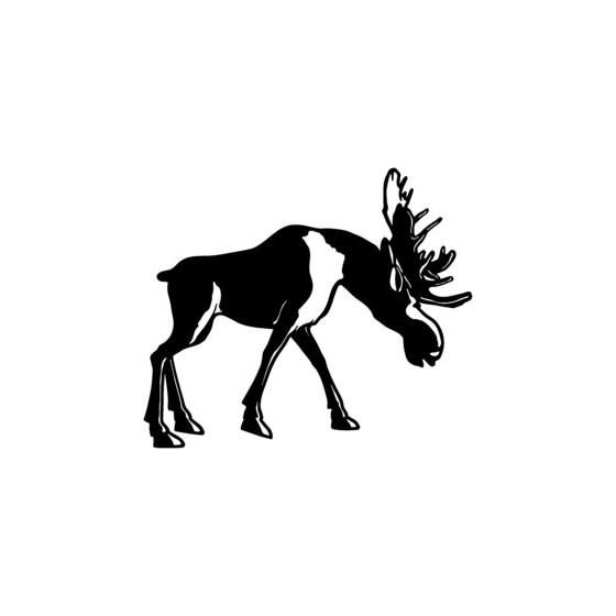 Moose Vinyl Decal Sticker V15