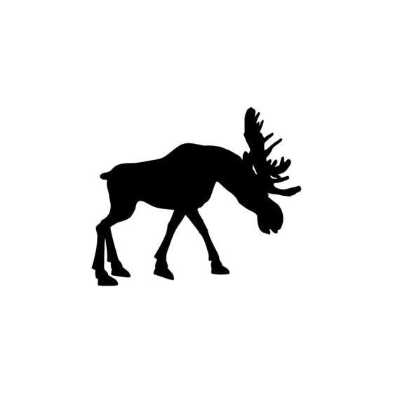 Moose Vinyl Decal Sticker V16