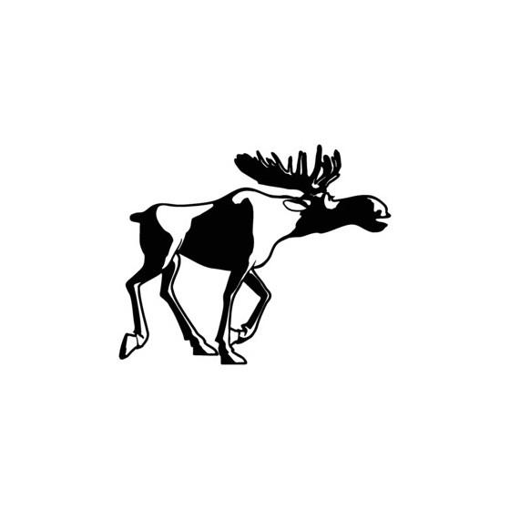 Moose Vinyl Decal Sticker V17