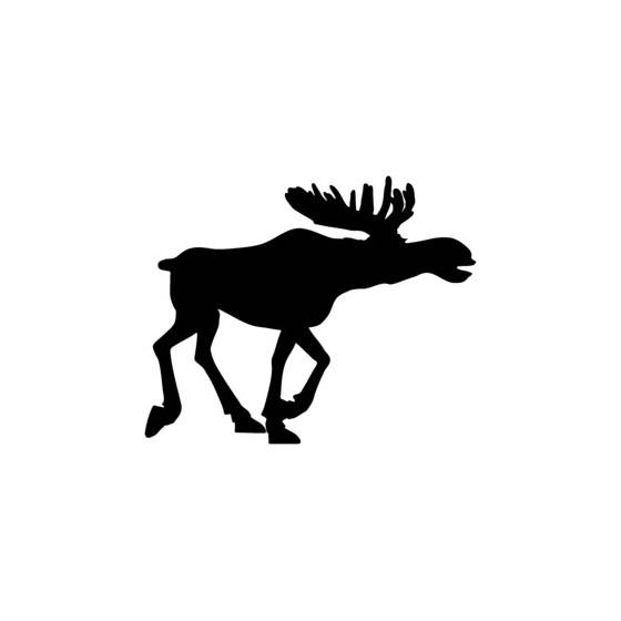 Moose Vinyl Decal Sticker V18