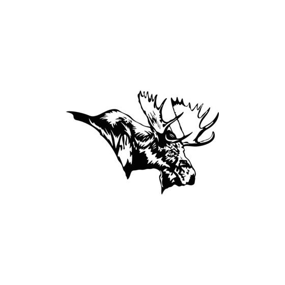 Moose Vinyl Decal Sticker V19