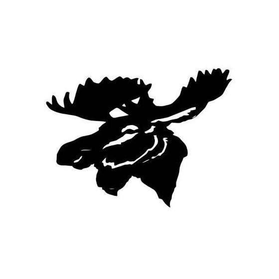 Moose Vinyl Decal Sticker V2