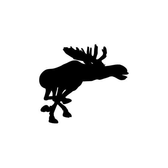 Moose Vinyl Decal Sticker V25