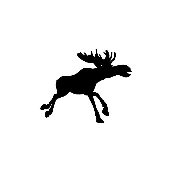 Moose Vinyl Decal Sticker V26