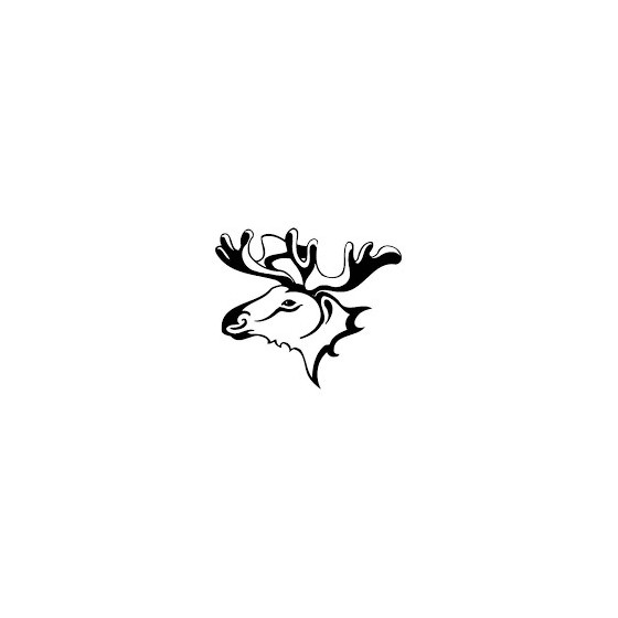 Moose Vinyl Decal Sticker V27