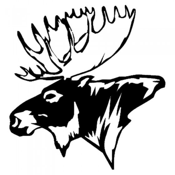 Moose Vinyl Decal Sticker V29