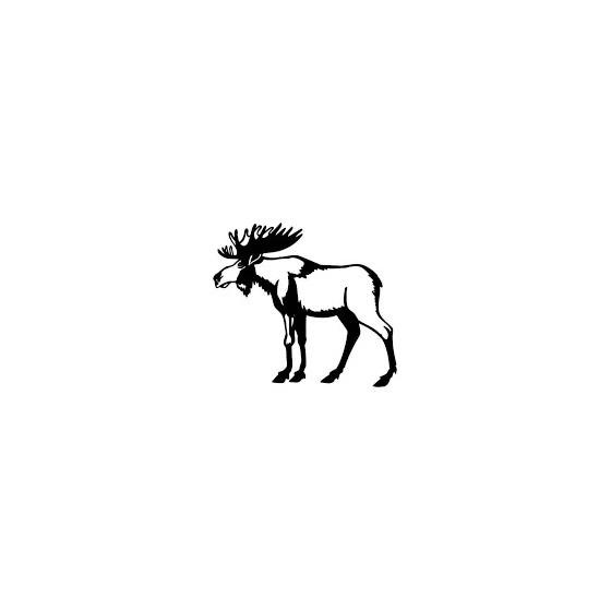 Moose Vinyl Decal Sticker V30