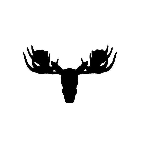Moose Vinyl Decal Sticker V31