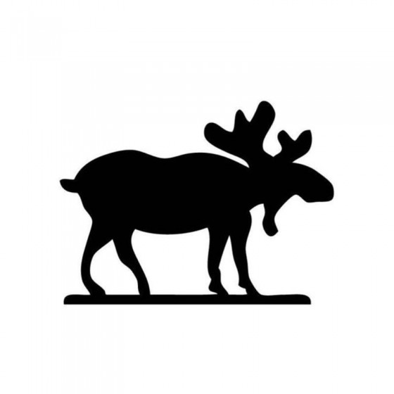 Moose Vinyl Decal Sticker V36