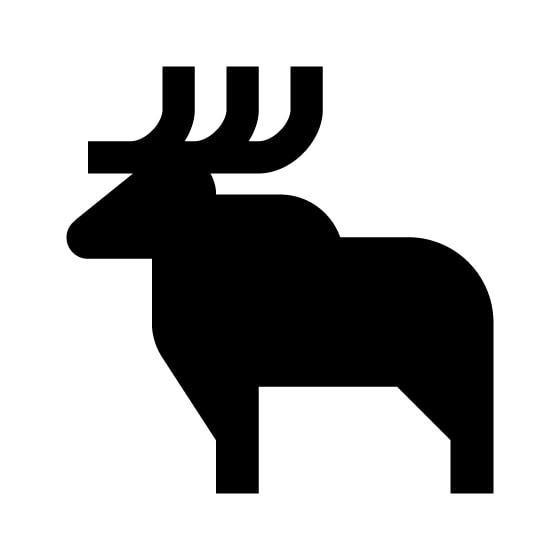 Moose Vinyl Decal Sticker V39