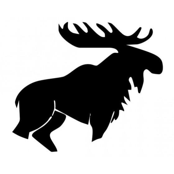 Moose Vinyl Decal Sticker V41
