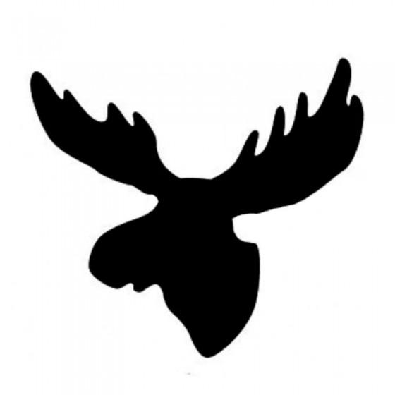 Moose Vinyl Decal Sticker V46
