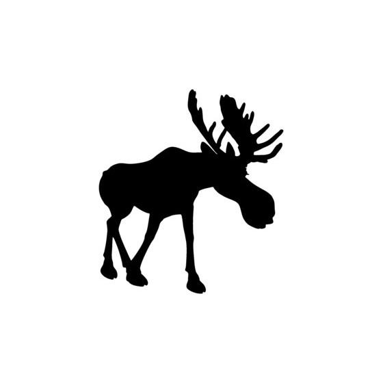 Moose Vinyl Decal Sticker V6