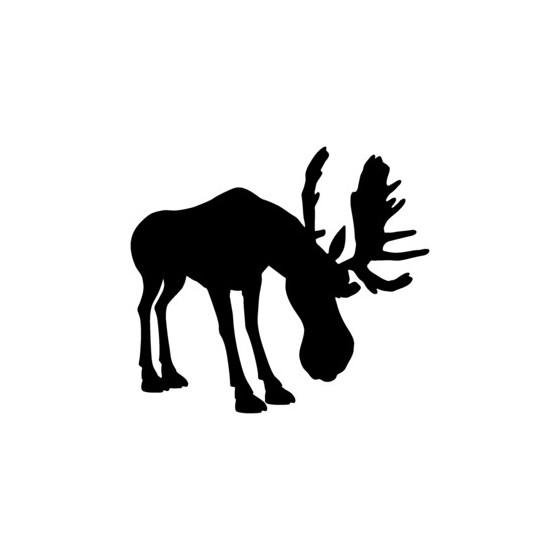 Moose Vinyl Decal Sticker V8