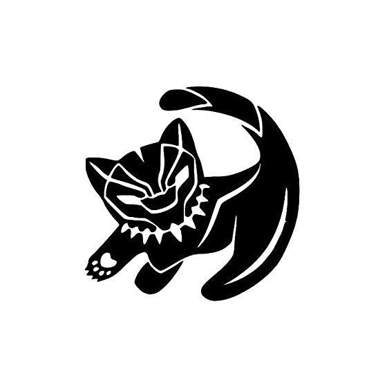 Panther Vinyl Decal Sticker...
