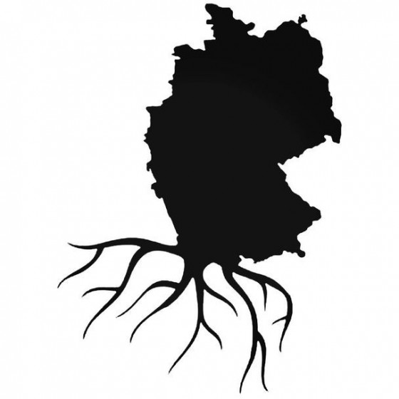 Duitsland Home Roots Decal...