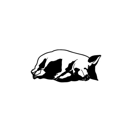 Pig Vinyl Decal Sticker V10