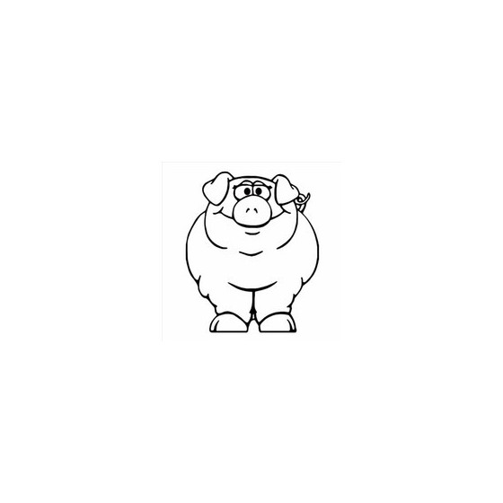 Pig Vinyl Decal Sticker V101