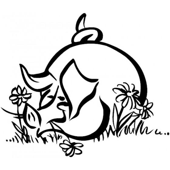 Pig Vinyl Decal Sticker V106