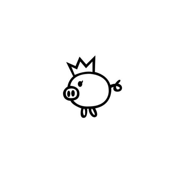 Pig Vinyl Decal Sticker V109