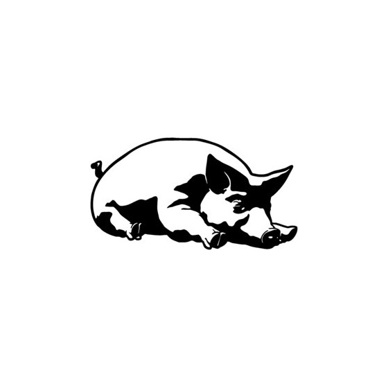Pig Vinyl Decal Sticker V11