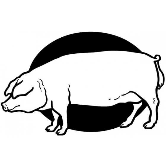 Pig Vinyl Decal Sticker V110